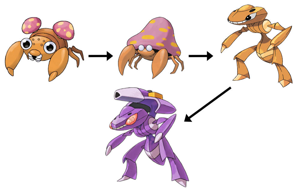 The Original Genesect by SilverBuller