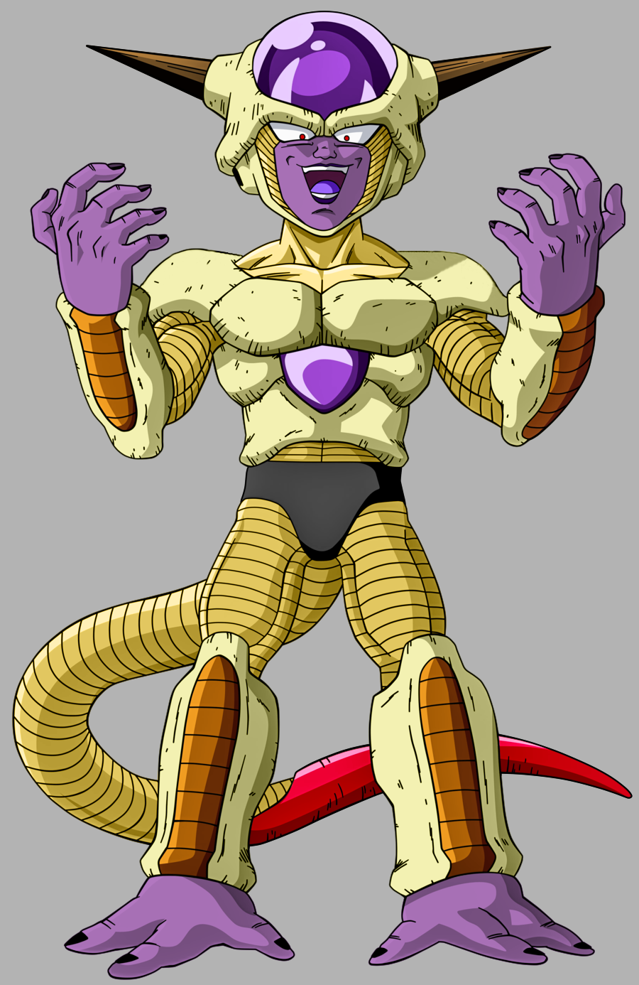 Golden Frieza 1st Form by SilverBuller on DeviantArt
