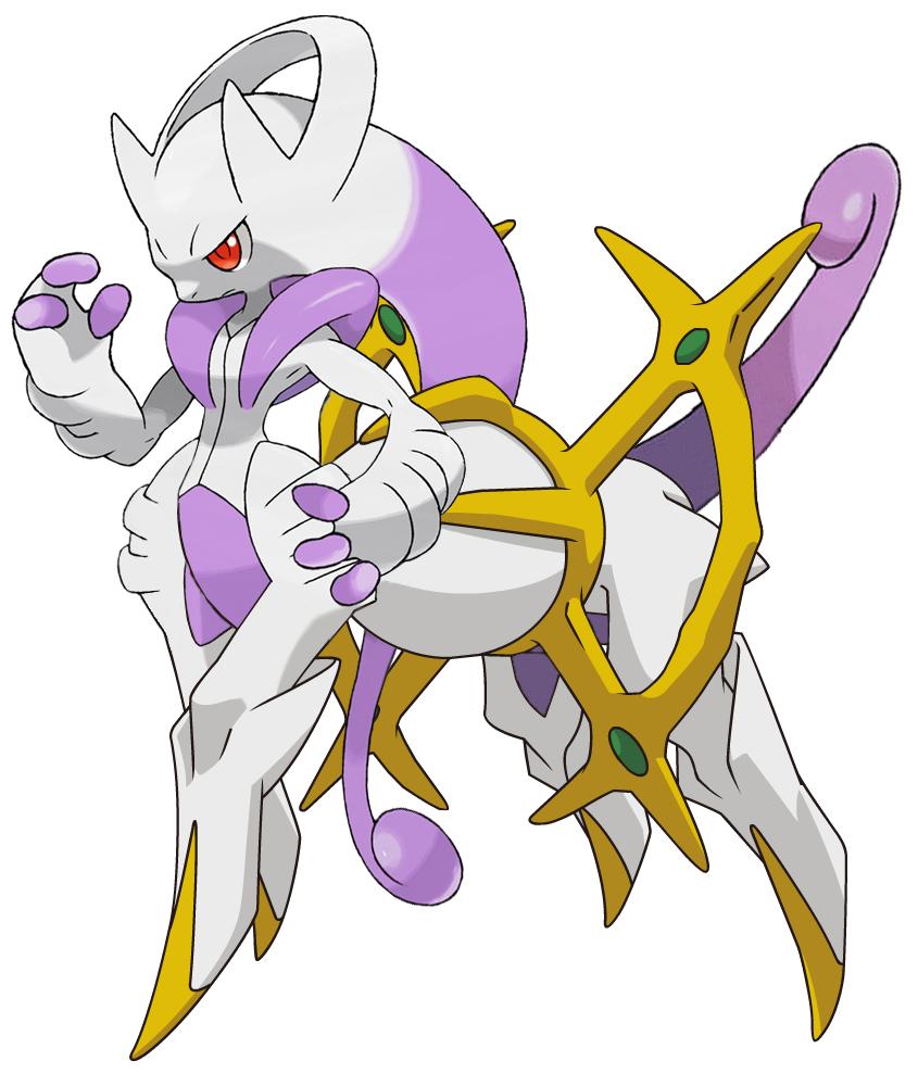 Pokemon fusion mega mewceus by silverbuller on deviantart - Evolution mew ...