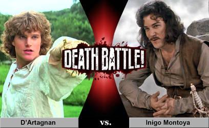 Death Battle: D'Artagnan vs. Inigo Montoya