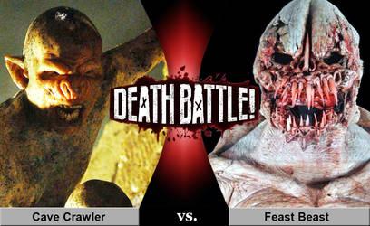Death Battle: Cave Crawler vs. Feast Beast