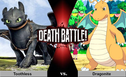 Death Battle: Toothless vs. Dragonite