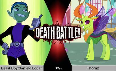 Death Battle: Beast Boy vs. Thorax
