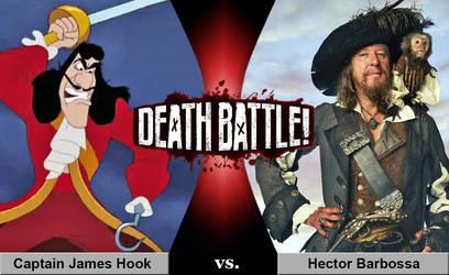 Death Battle: Captain Hook vs. Barbossa
