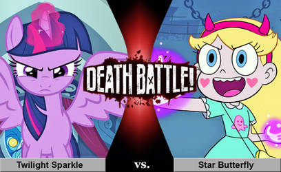 Death Battle: Twilight Sparkle vs. Star Butterfly