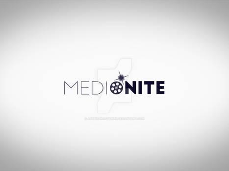 Social Media Company Typographic Logo