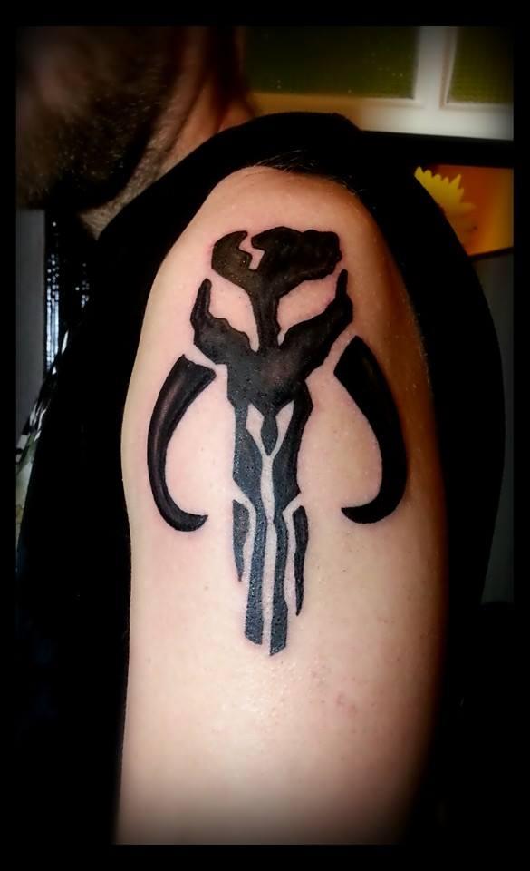 Mandalorian Tattoo: Mandalorian Tattoo By Searwen On DeviantArt