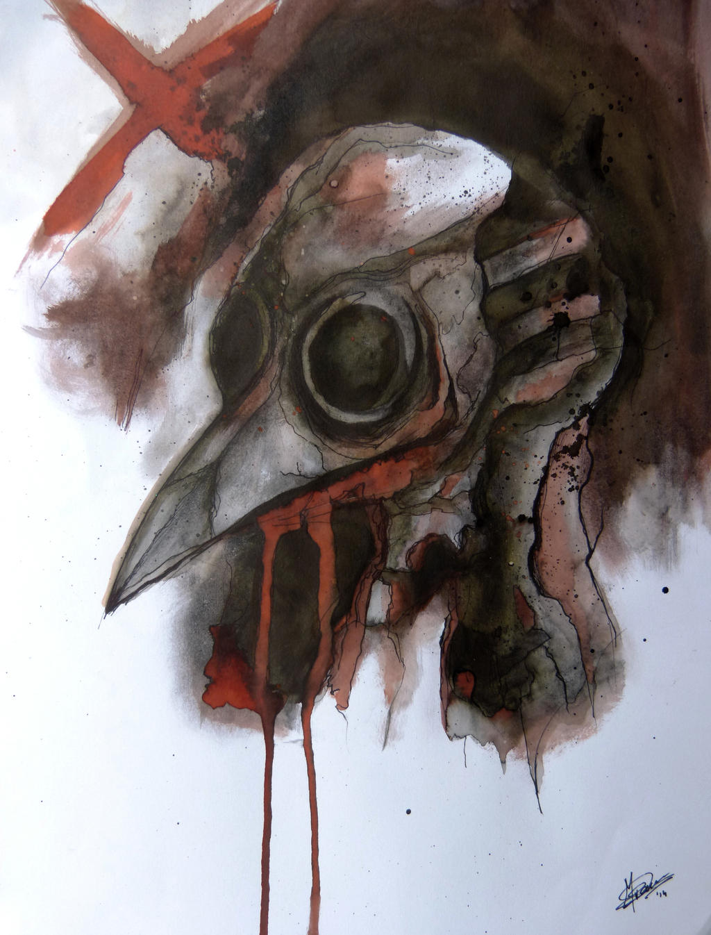 Plague Doctor by Searwen