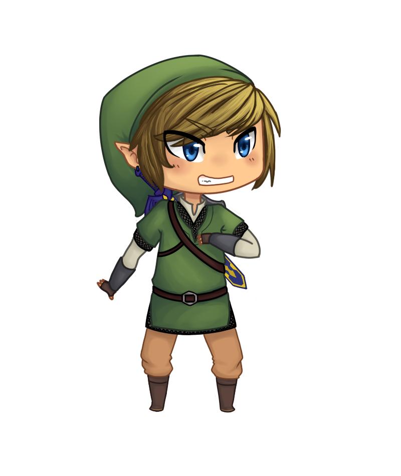 Chibi Link by megbug1anime