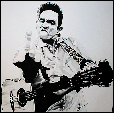 Johnny Cash by BlackhawksWin76