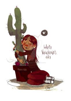 Cacti Valentine's Day!