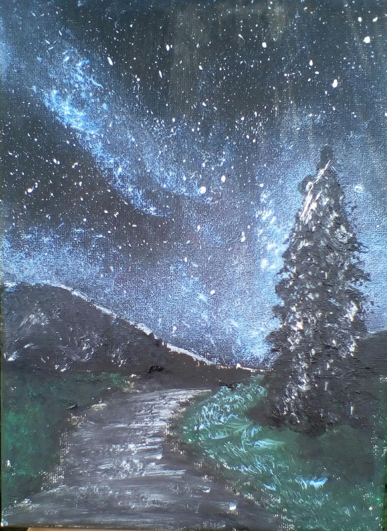 Night landscape by TamaraFaith