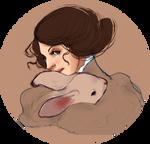 rabbit lady
