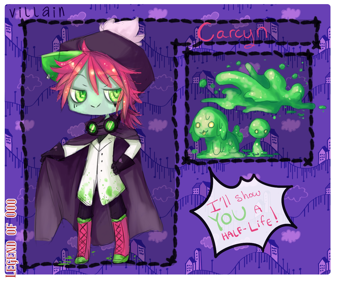 Carcyn: Villain App! by NightFisher