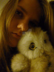 Me and the fluffy lil' featherball