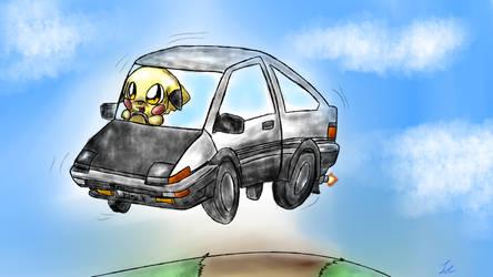 Pikachu and AE86