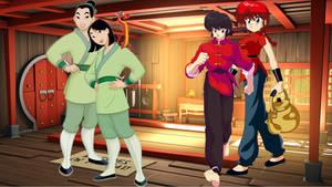 Kung Fu Masters Of Genderbending by totallydisney