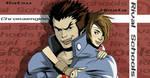 Batsu and Hina by Dynamaito
