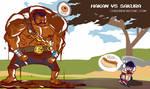 Hakan comic by Dynamaito