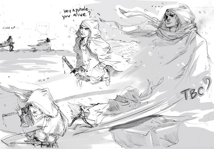 Snow fight by Dynamaito