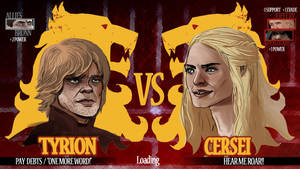 Tyrion vs Cersei...now loading by Dynamaito