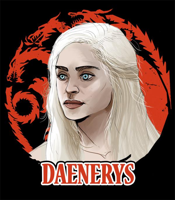 Daenerys selected by Dynamaito
