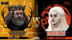King vs Khaleesi...now loading! by Dynamaito