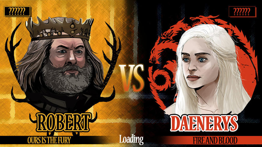 King vs Khaleesi...now loading! by Dynamaito