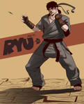 Young Street Fighters - Ryu