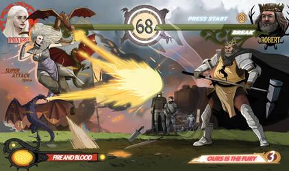 Game of Thrones Excel! Round 3 - Dany vs Robert