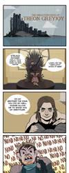 The Misdaventures of Theon Greyjoy by Dynamaito
