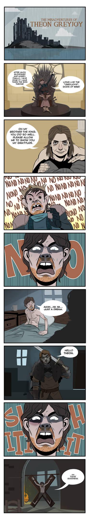 The Misdaventures of Theon Greyjoy