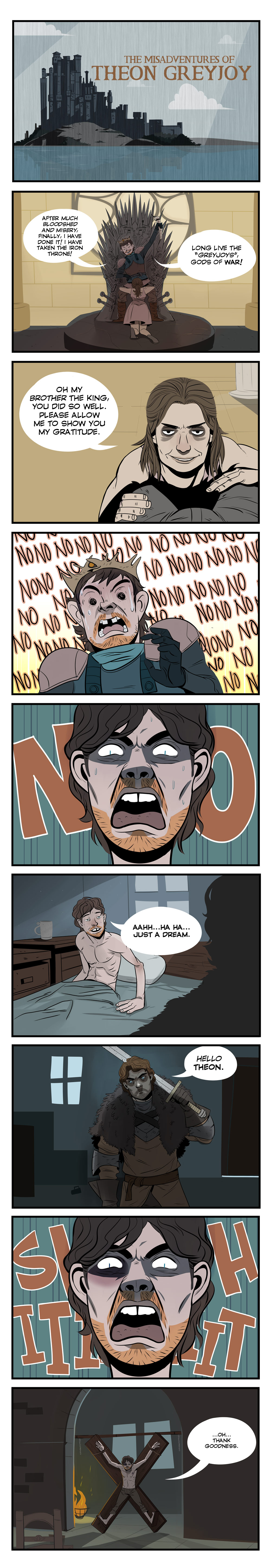 The Misdaventures of Theon Greyjoy by Dynamaito