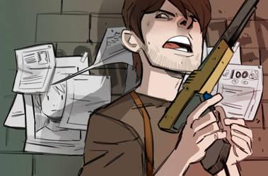 Ramsey the comic banner guy