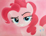 Pinkie Pie Oil Painting