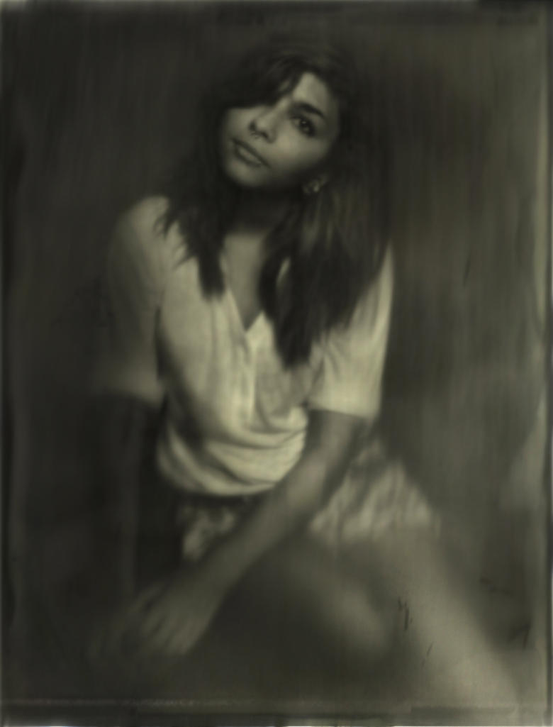 Digital Wet Plate Effects of Nichole by DustinPanzino