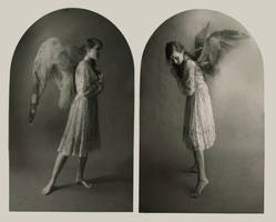 Angel Diptych