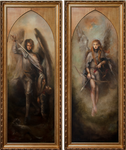 Conquest of the Morning Star Diptych
