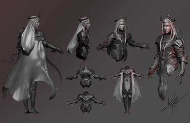 Zbrush Elven Lord Character Sheet