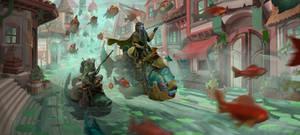 Flying Fish Parade
