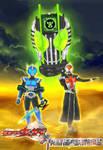 Kamen Rider X Transformers Poster
