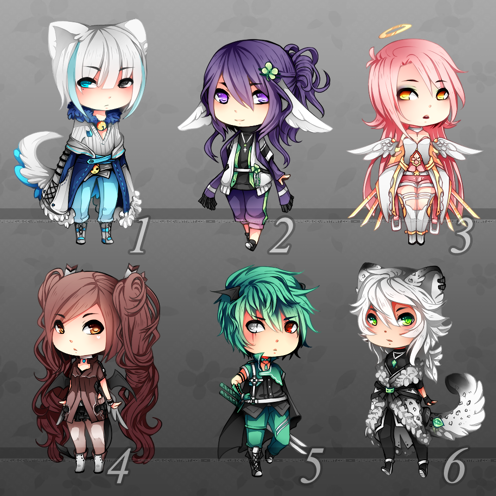 Adopts ::: Set 7 [Closed] by Saibraeus