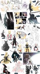 Pokimono ::: Sketch Dump 1