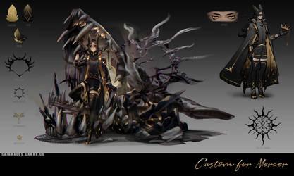 Custom Commission ::: Mercer