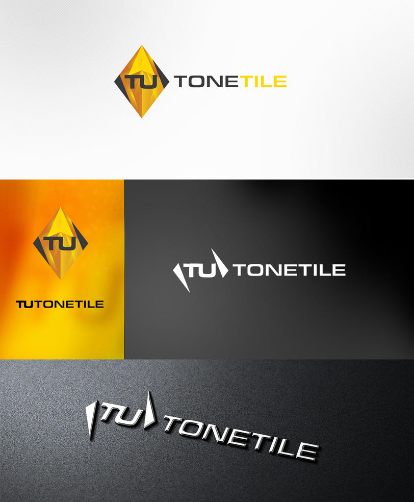 Tutone Tile logo by t1na