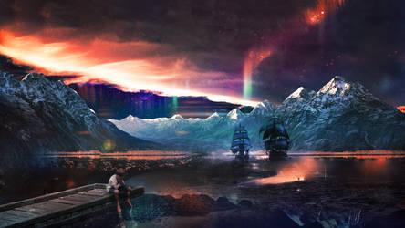 Lake of hopes by t1na