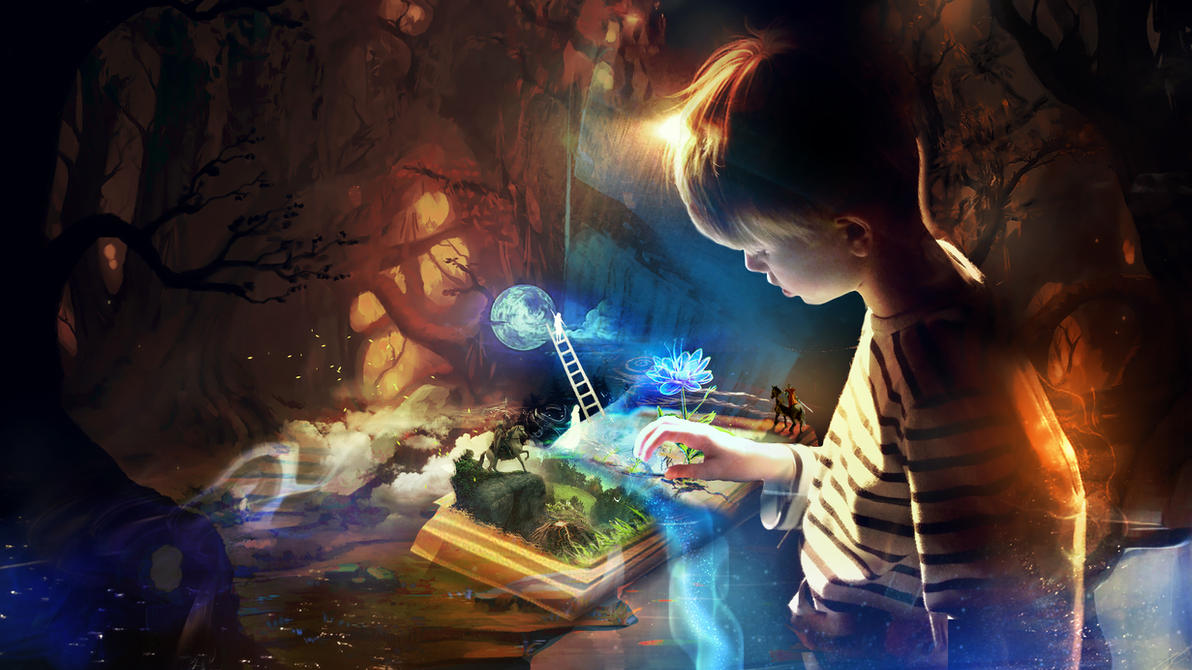 Book of imagination by t1na