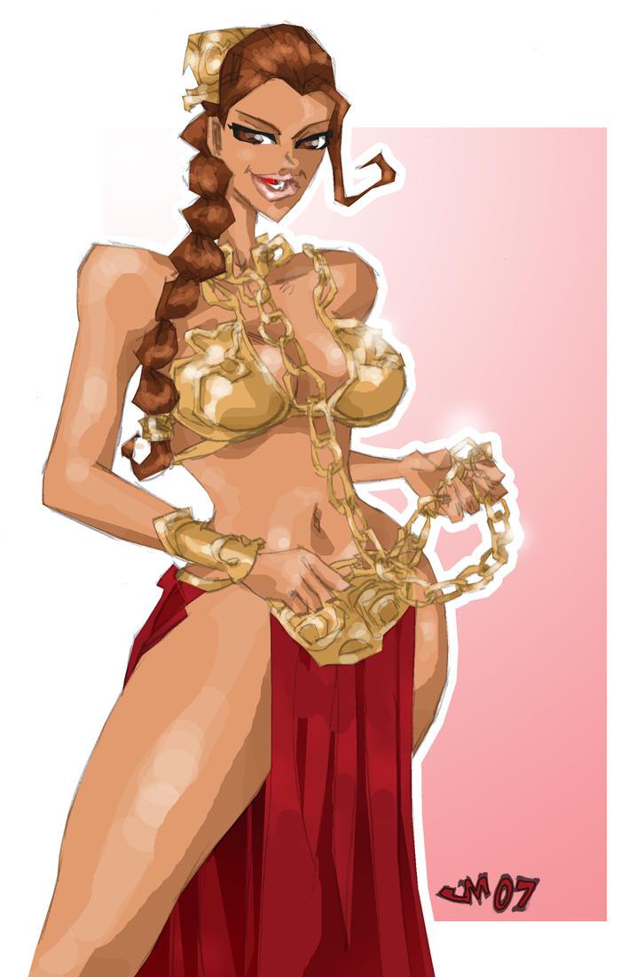Slave Leia by jasinmartin