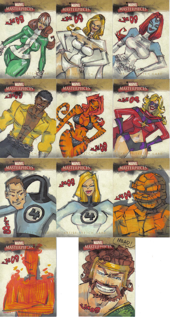 Marvel Masterpieces 2 misc 3 by jasinmartin