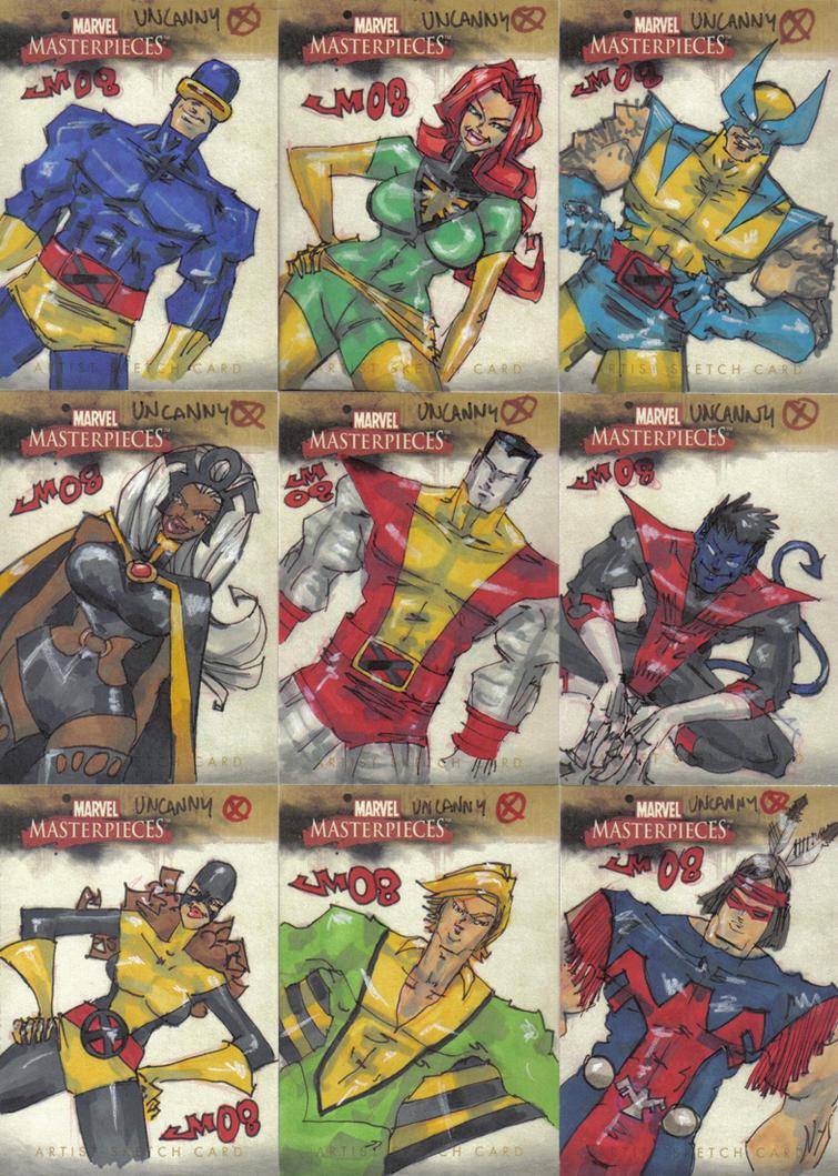 Marvel Masterpieces 2 UncannyX by jasinmartin